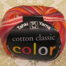 "Tahki Cotton Classic ""114 Red/Brown"" Yarn ~ 1 Skein ~ $4"