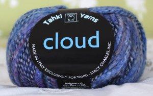 """Tahki Cloud """"5 Blues"""" Yarn ~ 1 Skein ~ $5"""