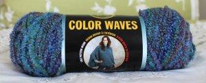 "Lion Brand Colorwaves ""Caribbean"" Yarn ~ 1 Skein ~ $5"