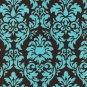 Ah Goo Baby Plush Pad Design 3- Vintage in Blue