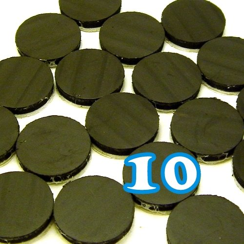 """10 High Energy Magnets 3/4"""" 19mm Craft Supply Button Add On"""
