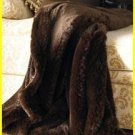 Faux Fur Sable Throw