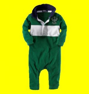 Infant/Boys POLO Coverall