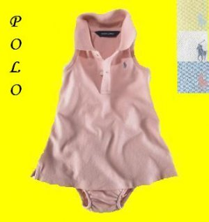 POLO Infant Sleeveless Dress