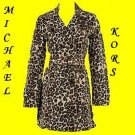 Michael Kors Leopard Trench