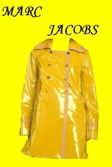 MARC by Marc Jacobs Patent Trench