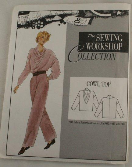 """Vintage""""Cowl Top"""" Sewing WorkshopPATTERN VINTAGE S 8-10"""