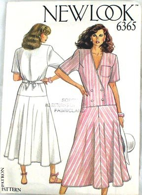 New Look Misses Dress Pattern Sz 8-18