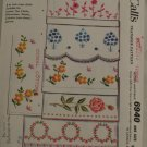 "Vintage 1963 ""Transfer Patterns"" McCall 6940 PATTERN One Sz"