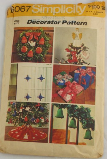 Transfer Pattern Christmas Ornaments VINTAGE PATTERN 73
