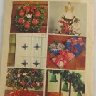 Transfer Pattern Christmas Ornaments VINTAGE PATTERN 73