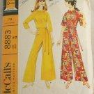 Mod Pantdress-McCall's 8883 Sz 18
