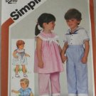 1983 Toddler Sailor-Simplicity 5912 sz 1
