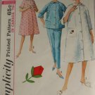 Misses Sleepwear-Simplicity 5205-VINTAGE PATTERN Sz 14