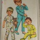 1968 Toddler Pajama-Simplicity 8076 Sz 1