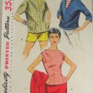 Audrey Misses Blouse and Pullover Shirt-Simplicity 1172 sz 14