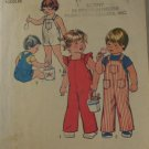 Toddler Overalls -Simplicity 6948 VINTAGE PATTERN sz 1