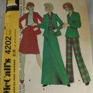 Misses Jacket,Skirt-McCall's 4202-VINTAGE PATTERN Sz 14