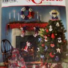 Christmas Decorations Simplicity 9327-VINTAGE PATTERN SZ One