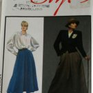 Misses Lined Jacket,Blouse,Skirt Alfred Sung Style 4891 SZ 14