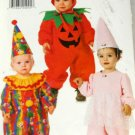 Infants Costumes Butterick 4598 SZ Newborn to 30 lbs