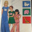 Childs Pajamas-Butterick 3956 Sz 6