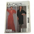 McCall's 8786 Sewing Pattern Misses Designer Bill Tice Knit Dress VINTAGE  SZ  Ex-Small