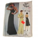 Vogue American Designer 1560 Edith Head Misses Dress & Jacket Pattern Sz 10