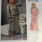 Vogue American Designer 1410 Albert Nipon Misses Dress   Sz 12