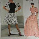 Vogue Paris Original 1274 Givenchy Misses Dress Sz 10