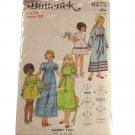 Children Girls Dress Butterick 6272  SZ 12, breast 30