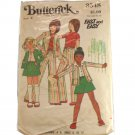 Children Girls Jacket Skirt & Pants Butterick 3548 SZ 4