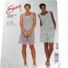 McCall's Stitch N Save Sewing Pattern 2729 Misses Top and Pull-On Shorts Size B L, XL