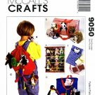 McCall's Crafts Pattern 9050 Bean Bag Animal Accessories