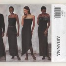 Butterick 3302 Arianna Formal Evening Wear Sewing Pattern Size 12,14,16