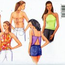 Butterick 3029 ©2001 Misses/Miss Petite Halter Tops; Sizes 12,14,16