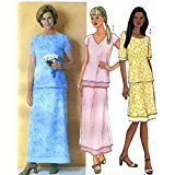 Misses Evening Top & A Line Skirt Sewing Pattern Butterick 3021  (8-10-12)