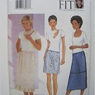 Butterick Pattern 3014 Misses'/Misses' Petite Skirt Sizes D,E,F