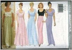 Butterick Classics 4824 Sz 8-12 Misses Petite Evening gown