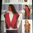Butterick 3300 Sewing Pattern, Misses' Vest, Size D,E,F