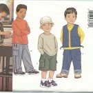 Butterick 3213 Sewing Pattern Boys Vest Shorts & Pants Size 2,3,4,5