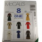 McCall's 8339 Sewing Pattern Misses Dress in Two Lengths Size D 12,14,16