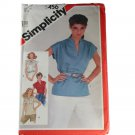Simplicity Sewing Pattern 5456 Misses Pullover Tops Size 16