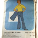Kandel Patterns for Knits 339 Little Boys 'Flared Leg Pants