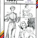 Stretch & Sew Pattern 1589 ~ Hidden Placket Dress & Blouse ~ Bust 28-44