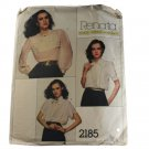 Vogue French Boutique 2185 Sewing Pattern Renata Misses Blouse Size 10