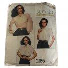 Vogue French Boutique 2185 Sewing Pattern Renata Misses Blouse Size 10
