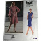 Vogue American Designer 2642 Sewing Pattern Bill Blass Misses Jumper and Belt Size 12