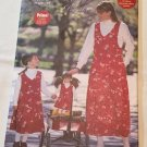 "Butterick 5708 Misses' / Children's / Girls' / 18"" Doll Jumper (all sizes in one envelope)"