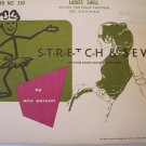 "Stretch & Sew Pattern 350 Ladies' Shell Sizes 30""-40"""